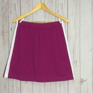 Nike Golf sport Skort Burgundy White sz Small